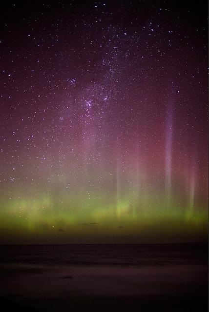 Aurora Australis - New Zealand