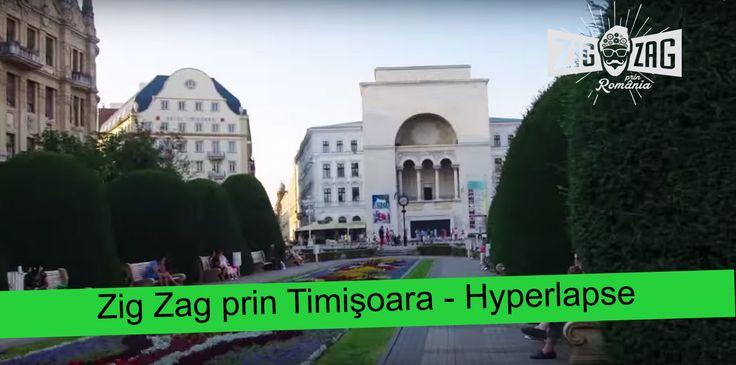 Zig Zag prin Timisoara - Hyperlapse