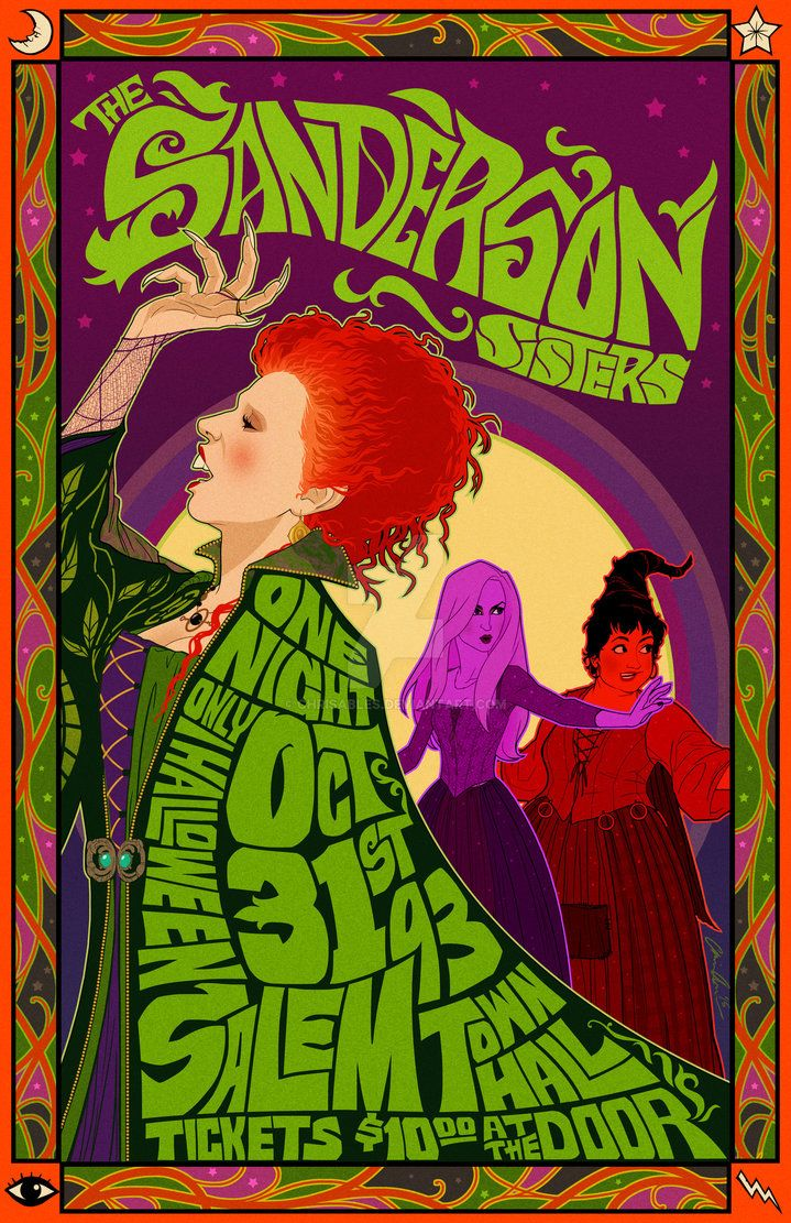 The Sanderson Sisters Live in Concert by chrisables on DeviantArt