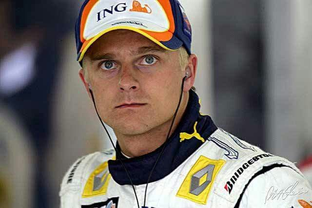 Heikki Kovalainen, one of the Flying Finns upon whom, unfortunately, the Finnish F1 goddess didn't smile so brightly...