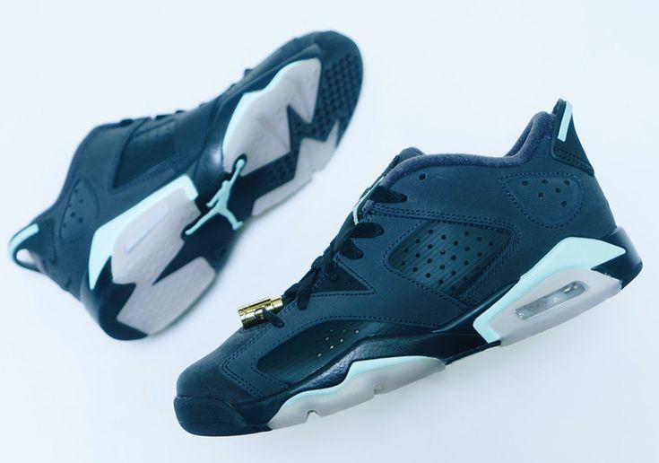 "#sneakers #news  Air Jordan 6 Low ""Mint Foam"" Releases Tomorrow For Girls"