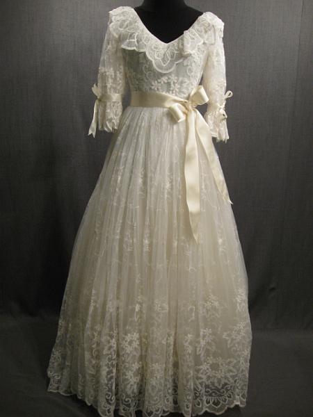 1980s Lace Wedding Dress 1980 S Fashion Pinterest