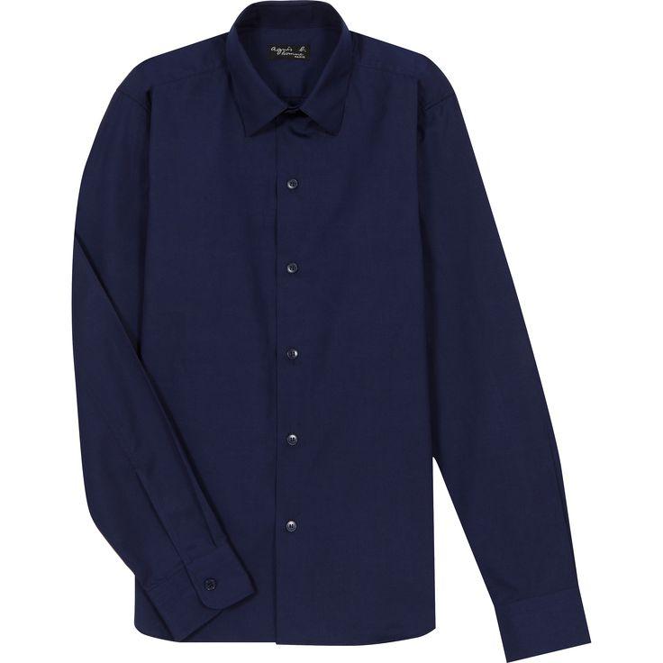 chemise toto bleue breton
