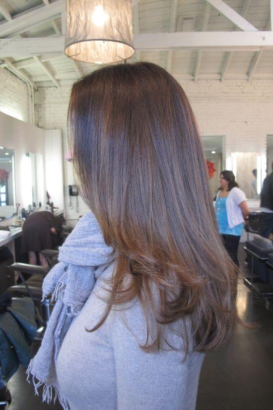 ❤️❤️❤️ this color!!! soft ash brown hair