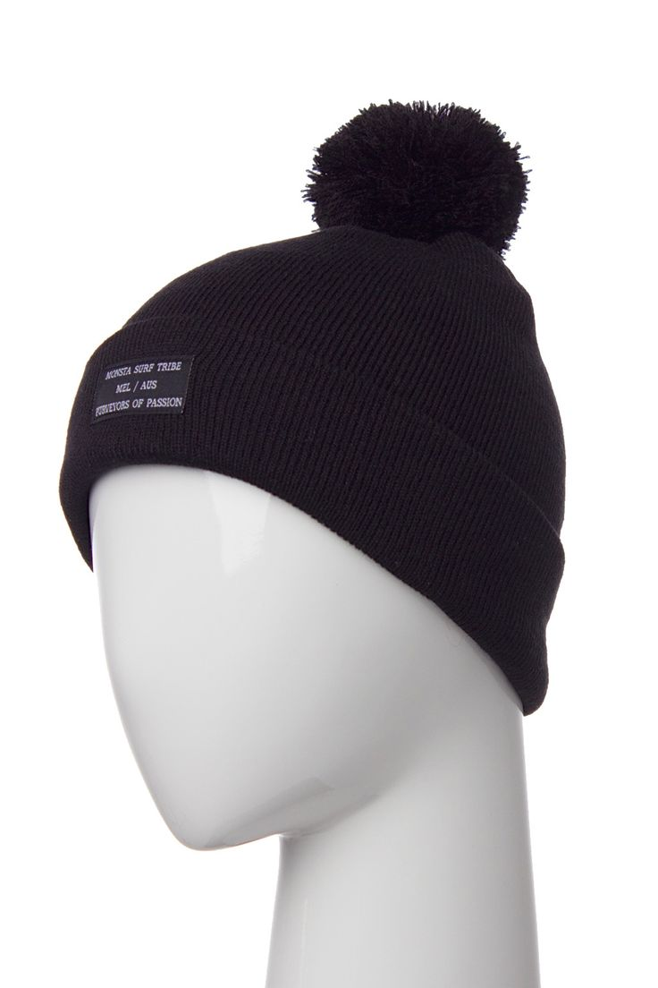 Purveyors Beanie Black from Monsta Surf