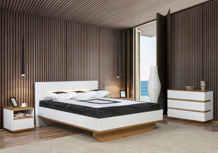 Zebra Home Concept - bedroom decoration idea from Klose  #bedroom #KloseFurniture #woodenbed #cosybedroom