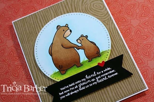 Diary of an Inky Girl…: Father's Day card with Mama Elephant Bear Hugs