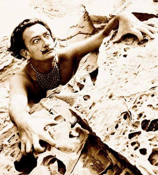 PARTAGE OF SALVADOR DALI.......ON FACEBOOK......