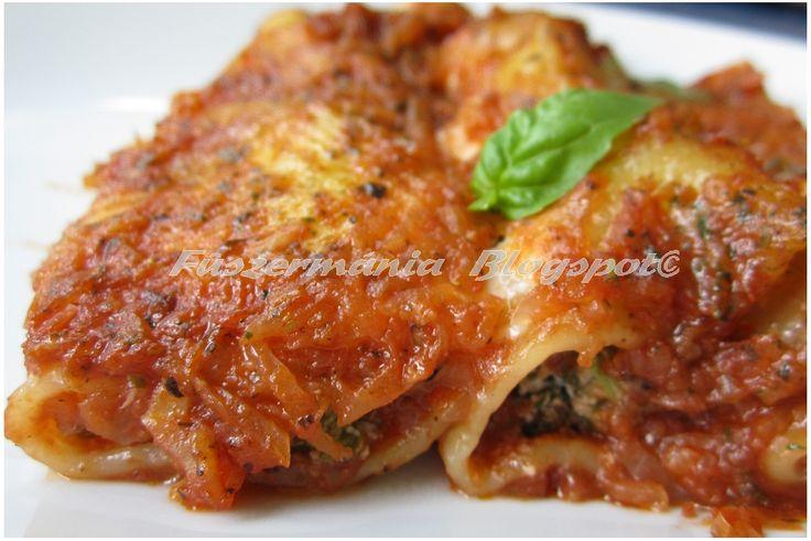 Fűszermánia: Cannelloni spenóttal és ricottával