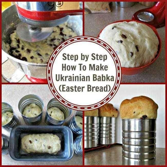 Step by step photos on how to make this Ukrainian Babka recipe!