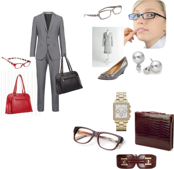 """""""Smarten Up With Glasses"""" by transform-image-consulting on Polyvore"""