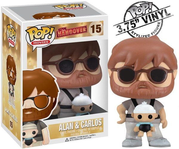 Funko Pop! Movies: The Hangover Alan & Baby Carlos