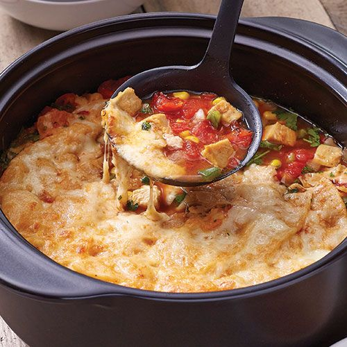 Hearty Chicken Quesadilla Soup - The Pampered Chef®