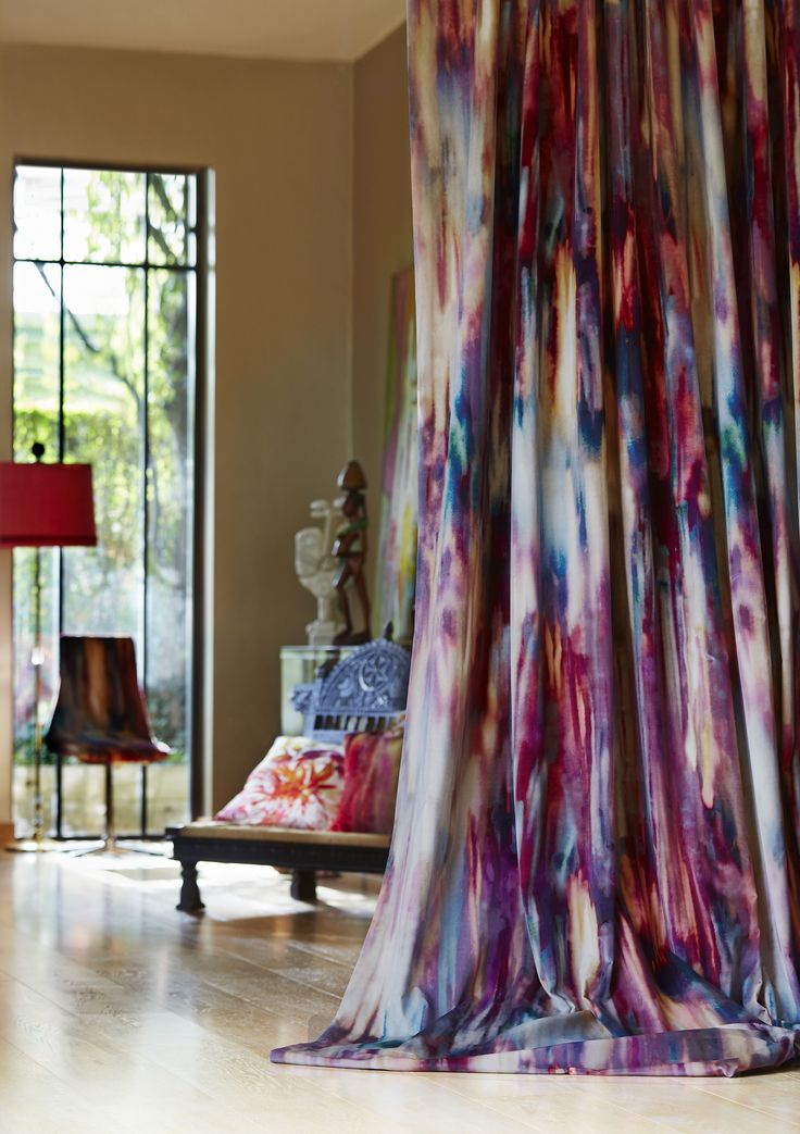 Jewel Tone Curtains Drape Style In 2019 Curtains