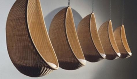 Hanging chair / Nanna & Jorgen Ditzel /  producer Pierantonio Bonancina / 1957