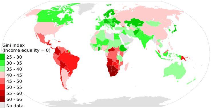 Gini coefficient - Wikipedia, the free encyclopedia
