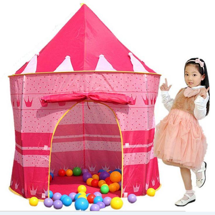 105*135*80 センチ子供ビーチ テント ベビー玩具プレイゲームハウス キッズプリンセスプリンス城屋内屋外玩具テント