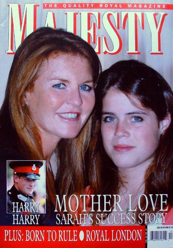 Majesty Magazine 10/05 Vol 26 - FERGIE & EUGENIE