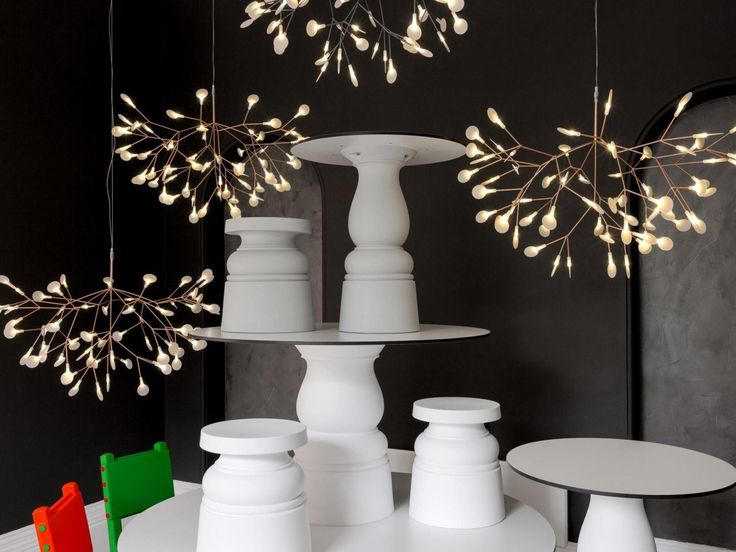 Moooi Heracleum Suspension Light in Copper by Bertjan Pot 98cm in Cool White