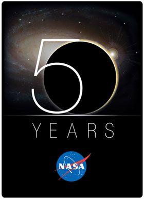 NASA's 50th Anniversary Logo