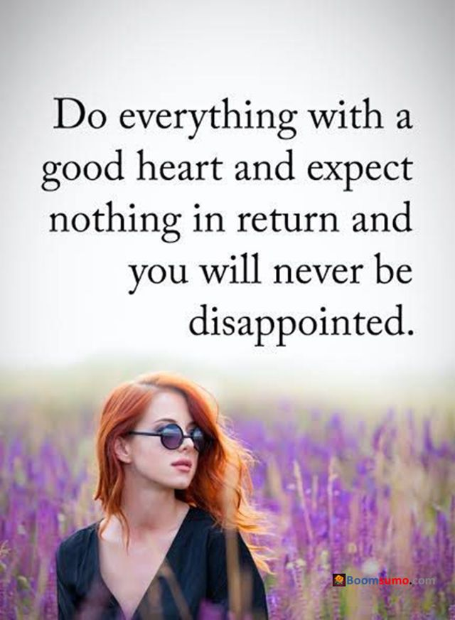 awesome Love Quotes about Love Life Good heart never be Disappointed