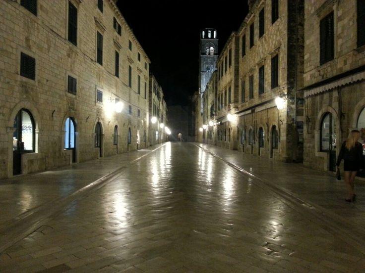 Dubrovnik Old City in Dubrovnik, Dubrovačko-Neretvanska Županija