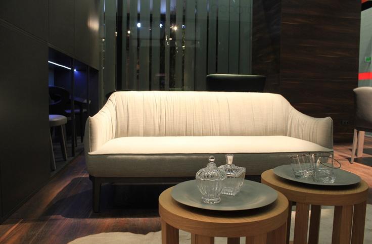 Potocco @ Imm Cologne - Blossom sofa + Rondò cofee table