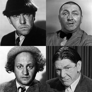 The Three Stooges. (I can't even watch them now. I remember Shemp was always my favourite.)