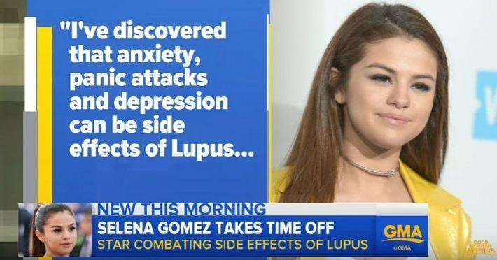 La batalla de Selena Gomez: por qué la gente no sabe sobre esto?  En 2016 Selena Gomez sorprendió a millones de sus fans cuando canceló su tour mundial debido a ataques de pánico y depresión. Esto se debe a los efectos secundarios debidos al lupus. También reveló que se sometió a quimioterapia para hacer frente a la condición.  Según los expertos el lupus hace que el sistema inmunológico del cuerpo ataque los tejidos sanos. En cuanto a la prensa la Fundación Lupus de América dijo que las…