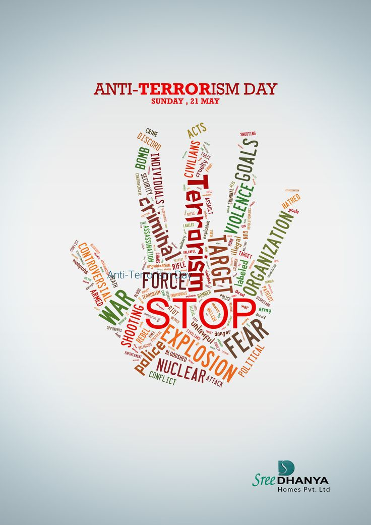 """An Eye for an Eye makes the whole world blind""- M.K.Gandhi. Today May 21st, #Anti #Terrorism #Day. Let's Unite Against Terrorism."