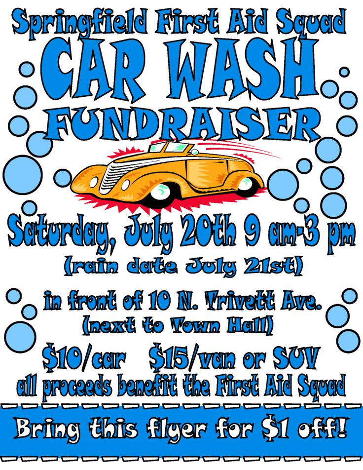 Springfield First Aid Squad Hosts Car Wash Fundraiser | Springfielder