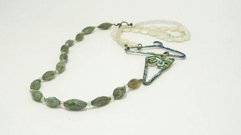 http://www.cityblis.com/item/9193      TheDailyObjects - Umbrella - $ 250 by OGIGIOIELLI      nacklace, silver, freshwater pearls, labradorite stone, oxidation.