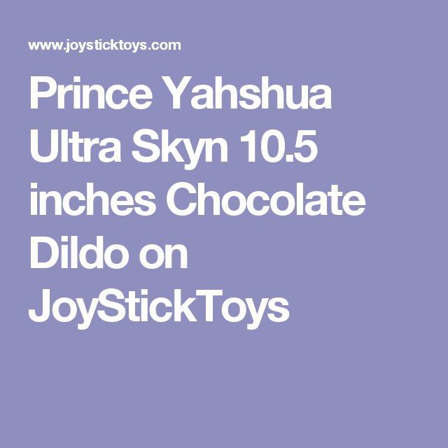 Prince Yahshua Ultra Skyn 10.5 inches Chocolate Dildo  on JoyStickToys