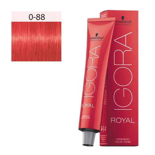 igora royal mix 0 88 booster rouge 60 ml schwarzkopf igora royal coiffdiscount - Coloration Igora Royal
