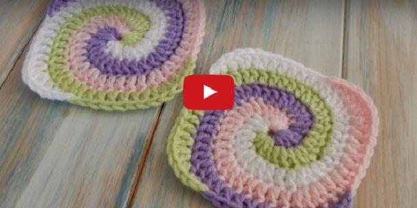 Harika Ev İşleri : Spiral Crochet Yapımı Detaylı Anlatım