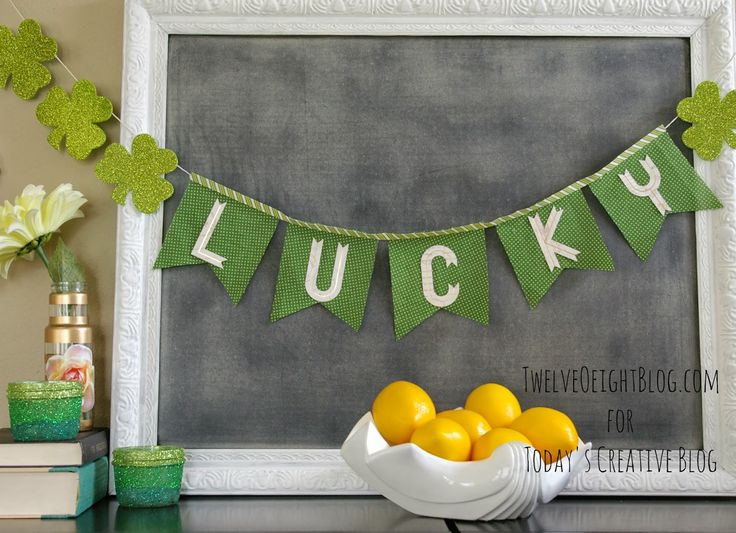Ombre St. Patrick's Day Votives | TodaysCreativeBlog.netLucky Garlands, Patricks Banners, Lucky Buntings, Todayscreativeblog Nets Pin, Ombre Votive, Lucky Banners, Saint Patricks, Pat Border, Patricks Signs