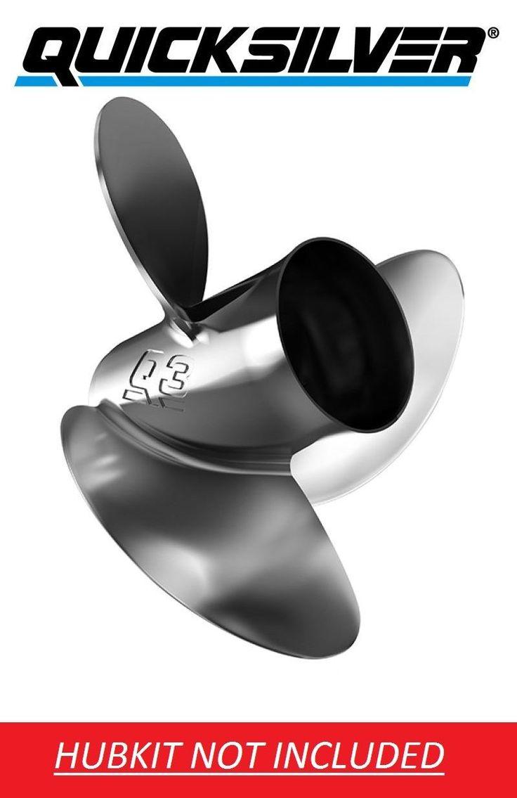 Quicksilver Enertia Q3 15 x 15 Stainless Prop For Evinrude Johnson 90-300HP V6