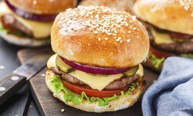 Burgerové briošky bez lepku
