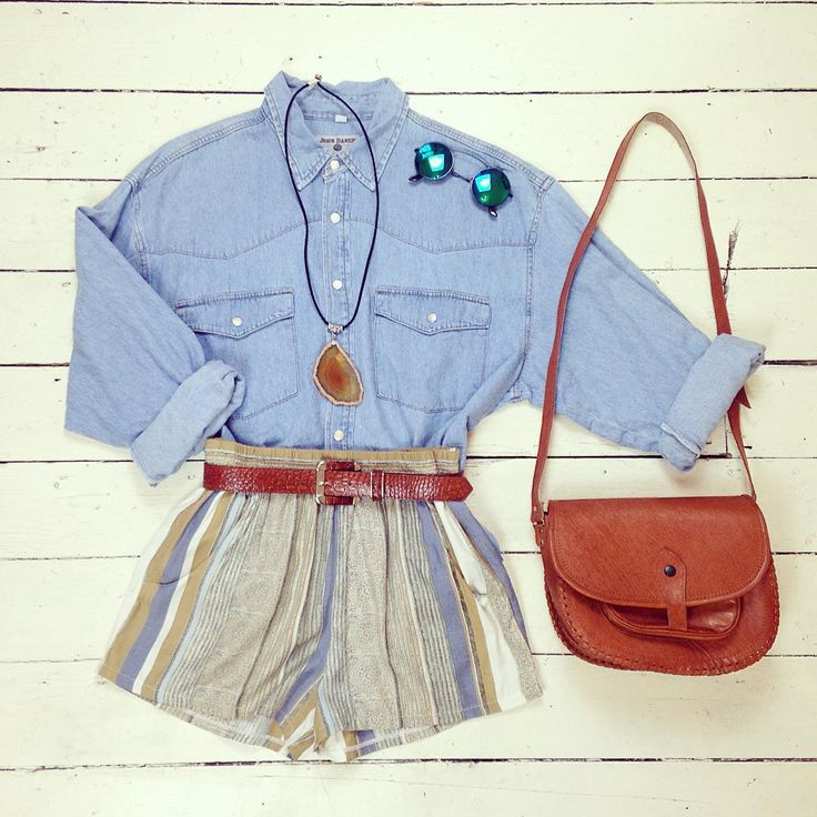 We just LOVE how versatile denim is Doesn't this shirt look fab with these…