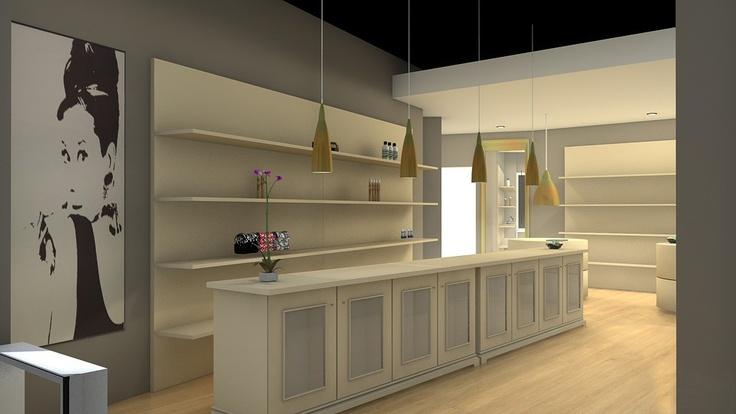 3D para el proyecto de la Perfumería Peñas, en Pamplona