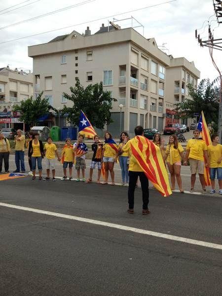 Preparatius finals de la #ViaCatalana cap a la independència