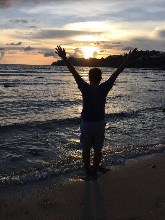 Sunset at the Peninsula