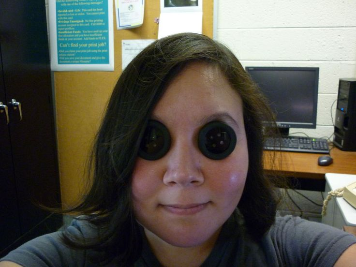 DIY Coraline Button Eyes (see through and prescription)