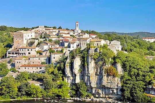 Balazuc, Ardeche, Plus beau village de France
