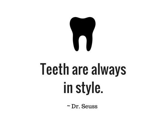 Wise words from #DrSeuss! Don't forget to schedule regular cleanings with us here at #KnollwoodDental. #DentalHygiene #DentalHealth