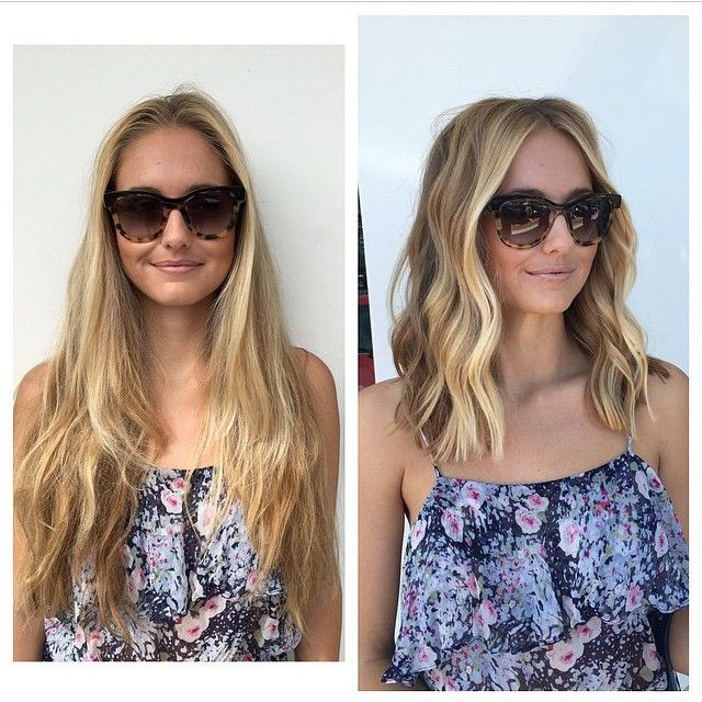 Before and After at Cie Sparks Salon in Malibu #malibu #beachwaves
