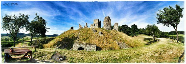 #castle #ruins #Brníčko #CzechRepublic