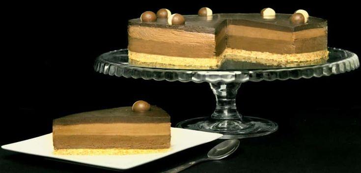 Cheesecake cu ciocolata si nutella reteta video