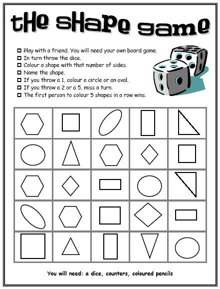 2D shape resources - Shape games and activities - ideal for introducing new shapes.