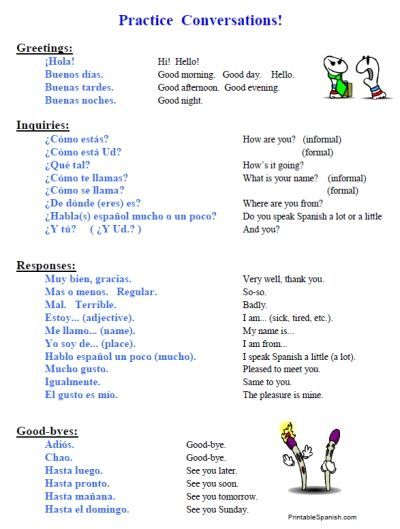Learning Spanish Worksheets : Best way to learning spanish here http